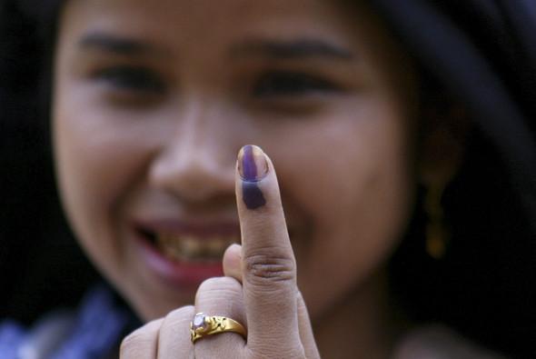 100 лет выборов в документальных фотографиях. Изображение № 123.