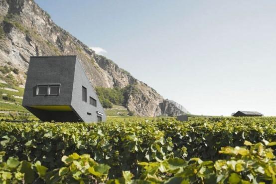 Дом в горах от Nunatak Architectes. Изображение № 3.