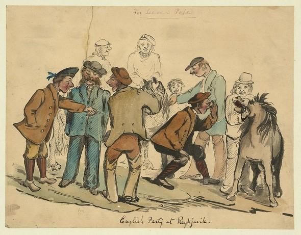 Исландия в середине XIX века: путевые рисунки американского дипломата. Изображение № 15.