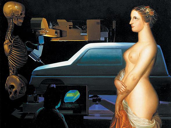 Выставка современного искусства «ВСТРЕЧА ДВУХ МИРОВ: Из коллекции Renault ART». Изображение № 2.