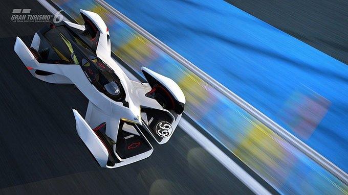 Chevrolet создала суперкар для Gran Turismo. Изображение № 4.