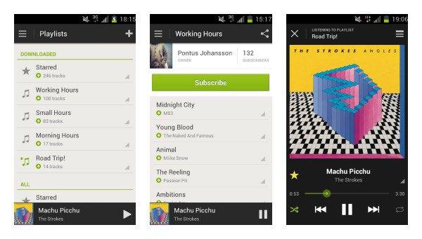 Старый дизайн приложения Spotify для Android. Изображение № 5.