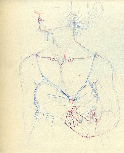 Чувства; карандашом и акварелью. Изображение № 13.