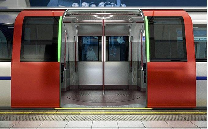Фото: футуристические поезда метро в Лондоне. Изображение № 5.