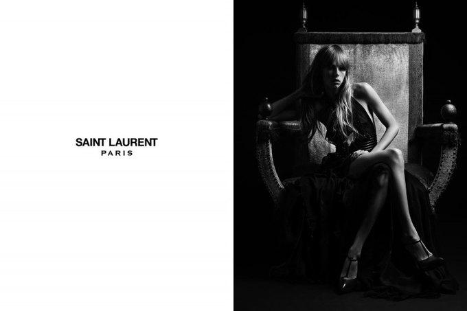 Бек и Эди Кэмпбелл снялись в кампании Saint Laurent. Изображение № 7.