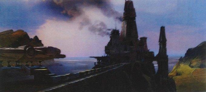 В Сеть выложили 32 концепт-арта для «Звёздных войн VII». Изображение № 16.
