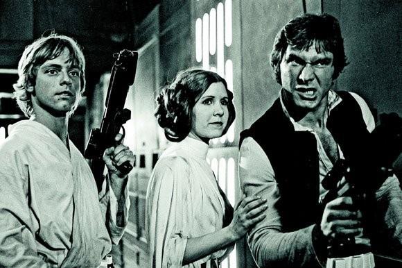 Редкие фотографии сосъемок «Звездных войн». Изображение № 2.