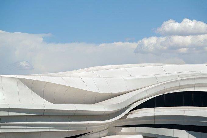 Архитектура дня: музей в Китае сбелым «слоёным» фасадом. Изображение № 2.