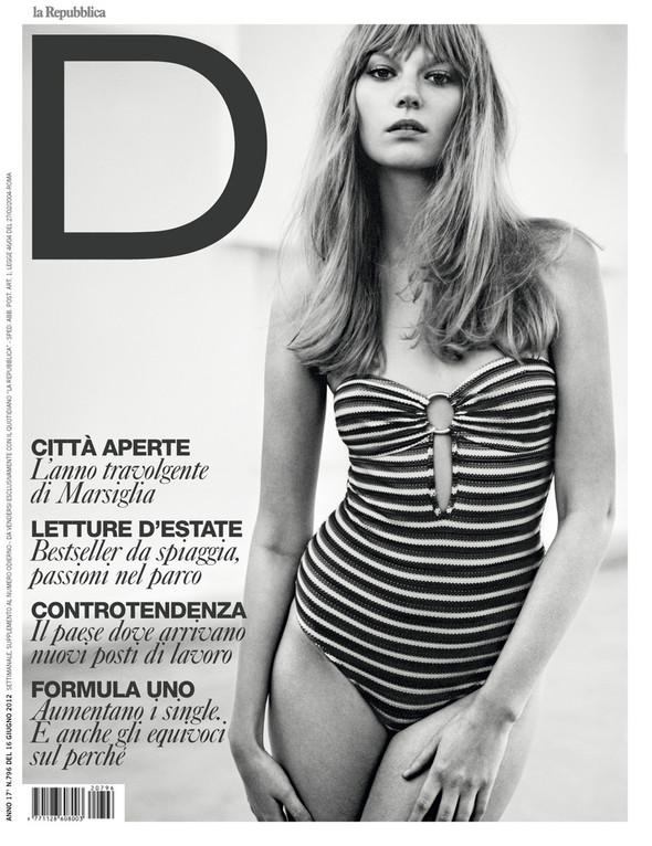 Обложки: Vogue, V, W и другие. Изображение № 6.