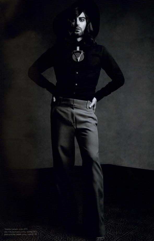 Изображение 75. Съемки: Harper's Bazaar, Industrie, Vogue и другие.. Изображение № 8.