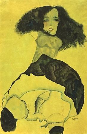 Эгон Шиле. Эротика вискусстве живописи ирисунка. Изображение № 30.