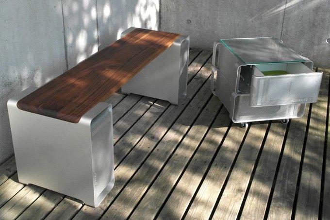 Дизайнер создал мебель изкомпьютера Apple. Изображение № 4.
