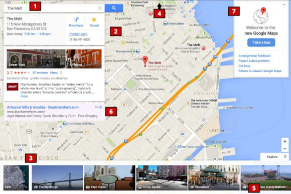 Google готовит редизайн интерфейса Google Maps. Изображение № 1.