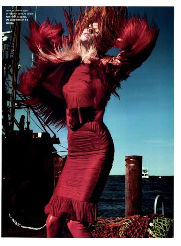 Съёмка: Карли Клосс для Numero. Изображение № 8.