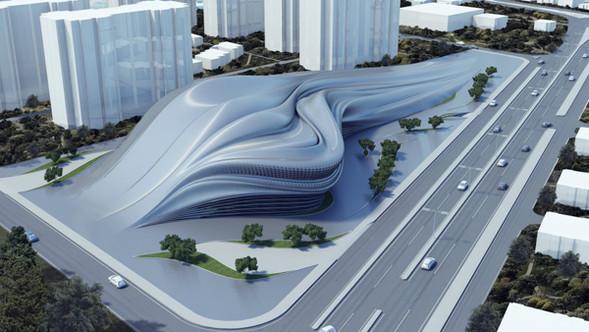 Причудливые формы: необычная архитектура. Изображение № 3.