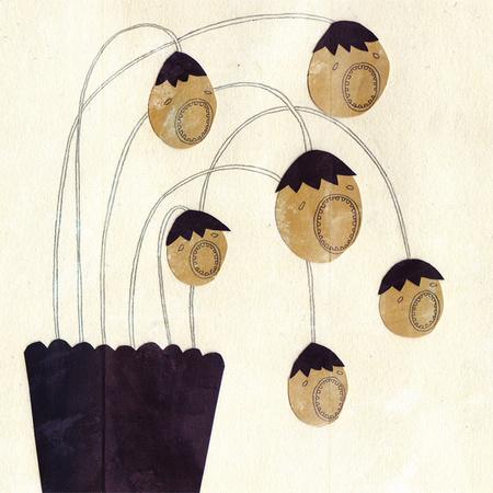 Милые уродцы виллюстрациях Sandra Juto. Изображение № 36.
