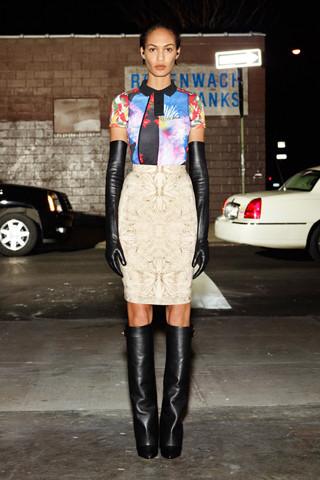 Givenchy Pre-Fall 2012. Изображение № 36.
