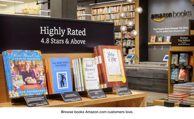 Amazon открыла книжный магазин в Сиэтле. Изображение № 2.