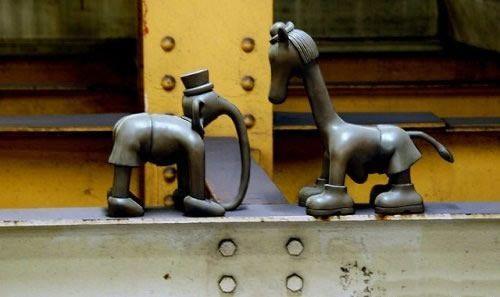 Скульптуры вНью-Йоркском метро. Изображение № 2.