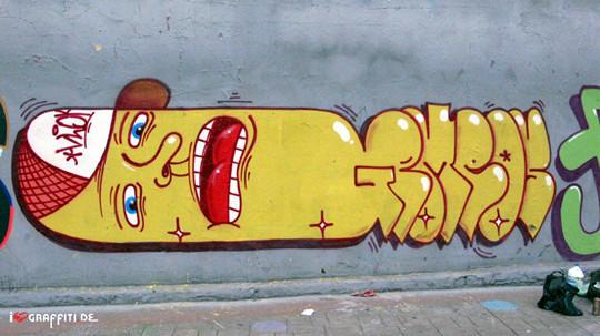 Граффити художники Os Gmeos о творческом пути. Изображение № 33.