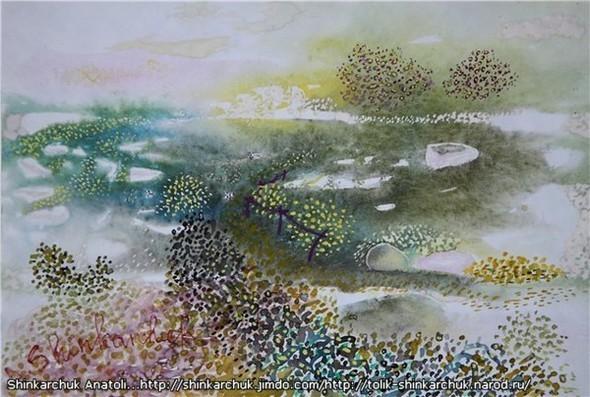 Shinkarchuk Anatoly watercolor and Japan Шинкарчук Анатолий акварель и Япония. Изображение № 16.