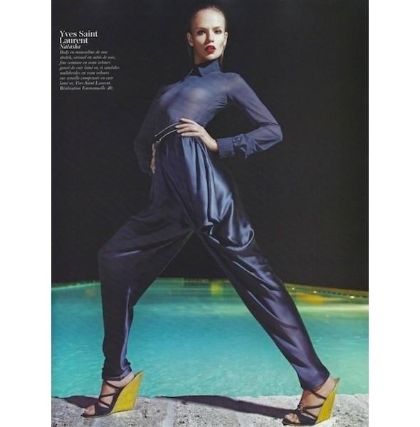 Изображение 23. Съемки: Harper's Bazaar, Industrie, Vogue и другие.. Изображение № 70.