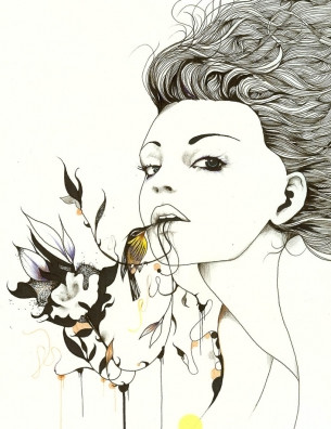 Иллюстрации Дэйвида Брэя грация исексуальный подтекст. Изображение № 7.
