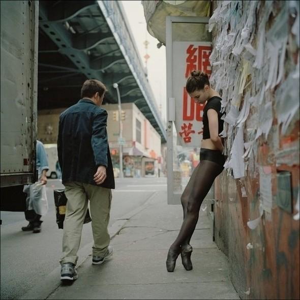 Изображение 1. Проект «Нью-Йоркская балерина».. Изображение № 1.