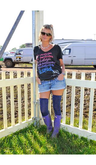 Изображение 23. Уличный стиль на фестивале Glastonbury.. Изображение № 23.