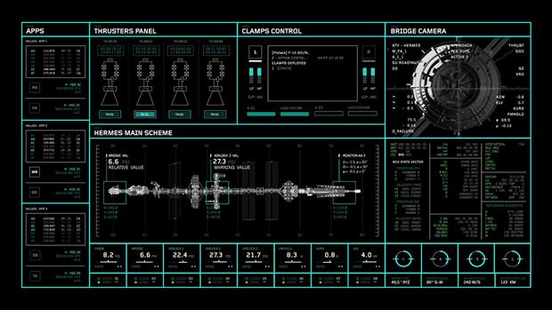 Студия рассказала обинтерфейсах в«Марсианине». Изображение № 14.