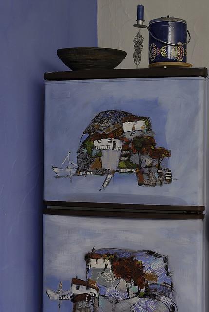 Изображение 2. 50 холодильников, которые можно назвать арт-объектами.. Изображение № 2.