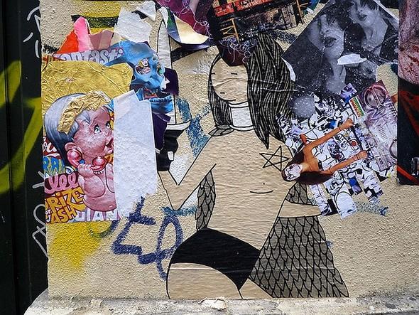 Стрит-арт в Париже. Изображение № 7.