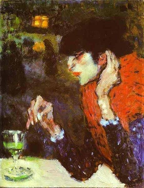 Пабло Пикассо, Любительница абсента. Изображение № 26.