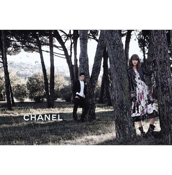 Изображение 5. Рекламные кампании: Chanel, Donna Karan, Stella McCartney и другие.. Изображение № 5.
