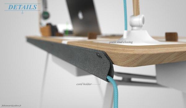 Концепт недели: стол, который всегда в порядке. Изображение № 6.