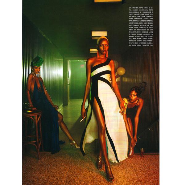 Изображение 6. The Blackallure: съемка с темнокожими моделями в итальянском Vogue.. Изображение № 6.