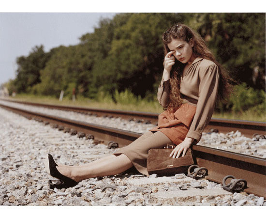 Изображение 4. Превью кампаний: Givenchy, Miu Miu и Yves Saint Laurent.. Изображение № 3.