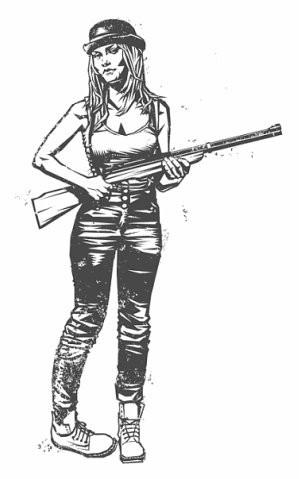 Девушки с оружием от Frank Barbara. Изображение № 39.