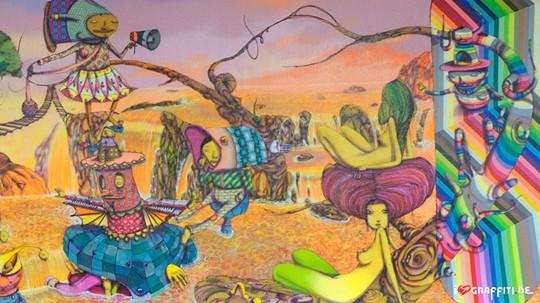 Граффити художники Os Gmeos о творческом пути. Изображение № 26.