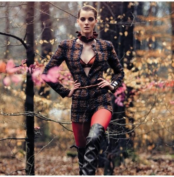 5 новых съемок: Purple Fashion, Vogue и W. Изображение № 1.