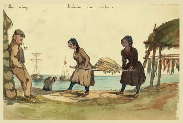 Исландия в середине XIX века: путевые рисунки американского дипломата. Изображение № 7.