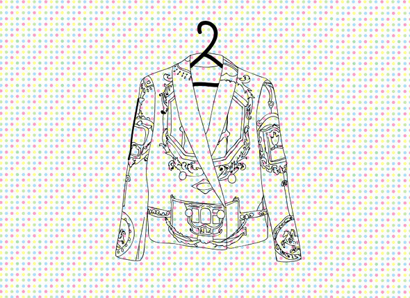 Жакет Versace. Изображение № 7.