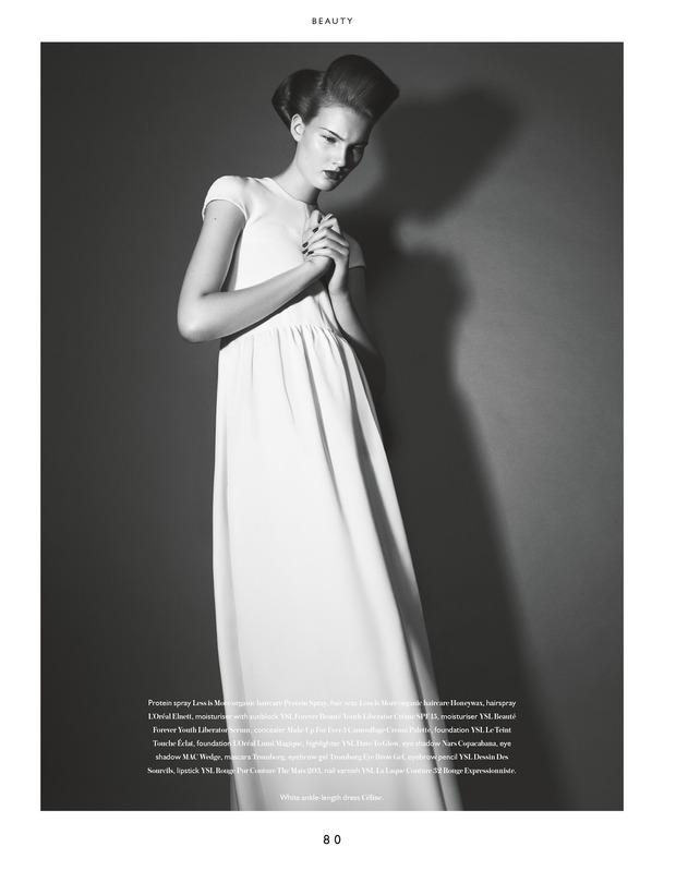 Вышли новые съемки из Bon, Flair, Vogue и других журналов. Изображение № 4.