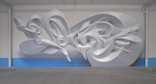 Изображение 1. PEETA: 3D граффити.. Изображение № 1.