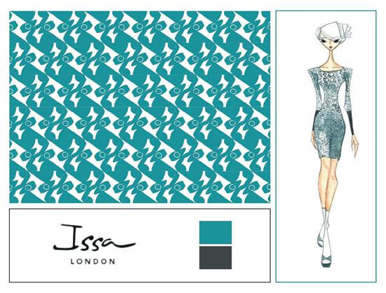 Модный дом Issa и принт для новой коллекции. Изображение № 7.