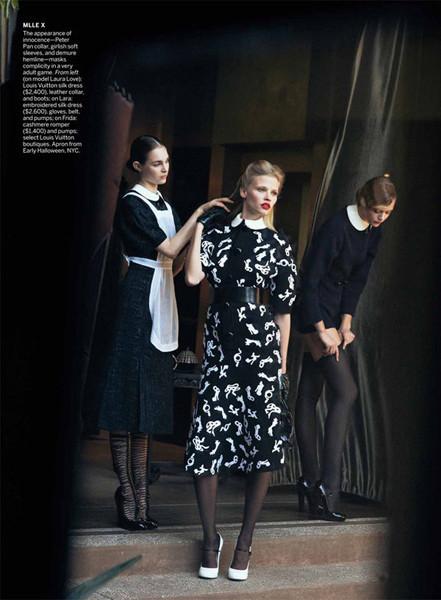 Съёмка для американского Vogue, июль 2011. Изображение № 29.