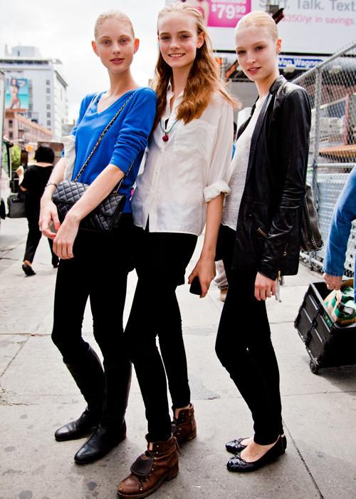 City Looks: Стиль моделей в блоге Bonae L'Amour. Изображение № 15.
