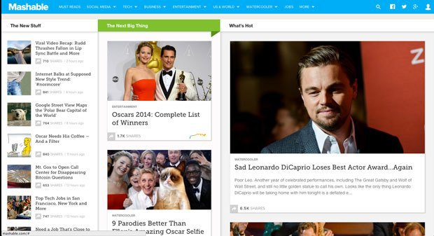 Tribune Digital снова инвестирует в Mashable. Изображение № 1.