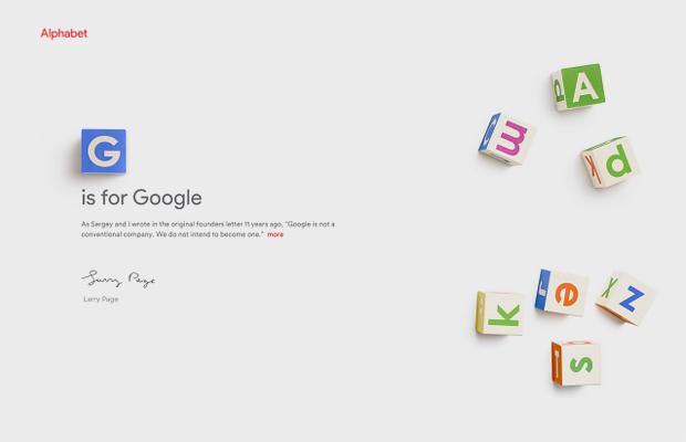 Google стала частью нового холдинга Alphabet. Изображение № 1.