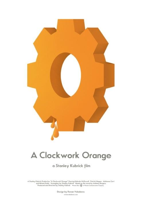 A Clockwork Orange - 20 кинопостеров на тему ультранасилия. Изображение № 5.
